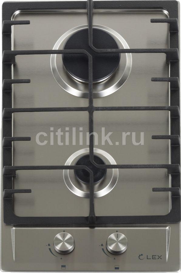 Варочная панель LEX GVS 321 IX,  независимая,  нержавеющая сталь