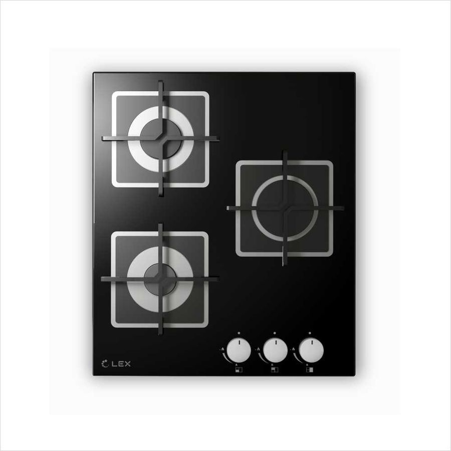 Варочная панель LEX GVG 432 BL,  независимая,  черный