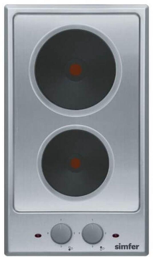 Варочная панель SIMFER H 30 E02 M011,  электрическая,  независимая,  серебристый
