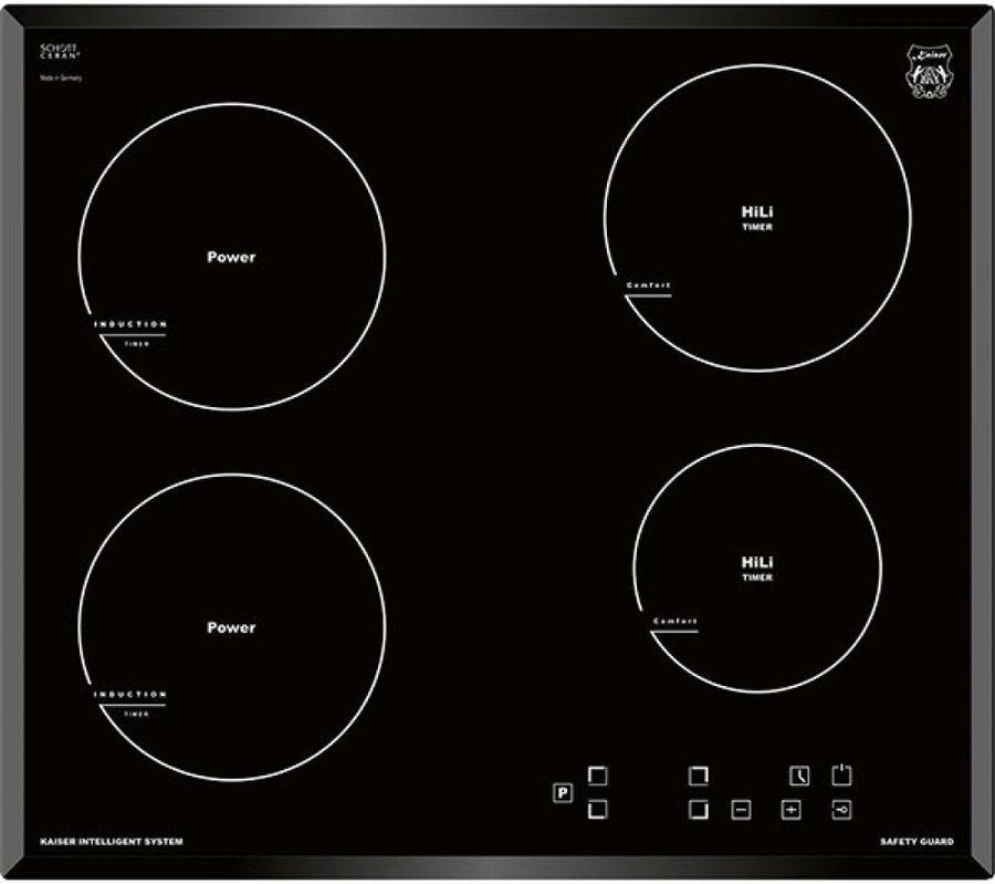 Индукционная варочная панель KAISER KCT 6722 FI,  индукционная,  независимая,  черный