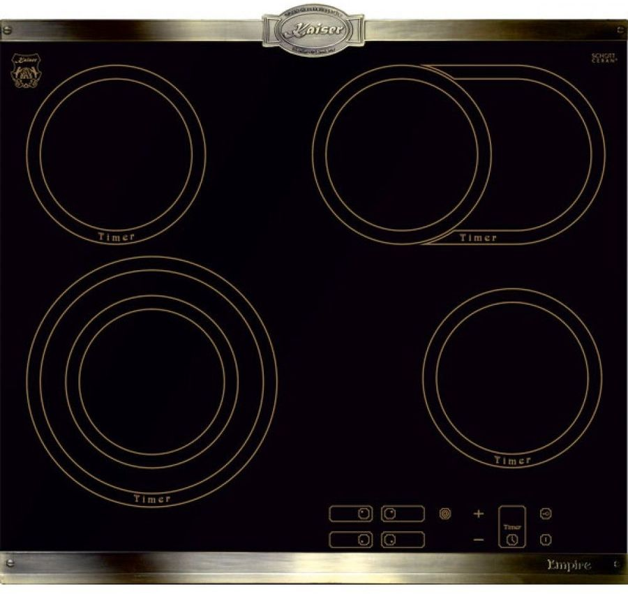 Варочная панель KAISER KCT 6385 Em,  инфракрасная,  независимая,  черный