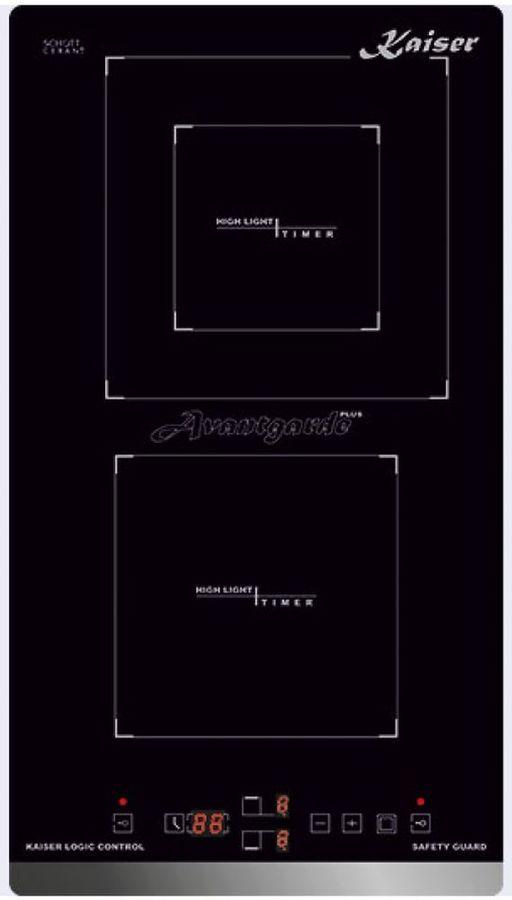 Варочная панель KAISER KCT 3422 F Avantgarde,  инфракрасная,  независимая,  черный
