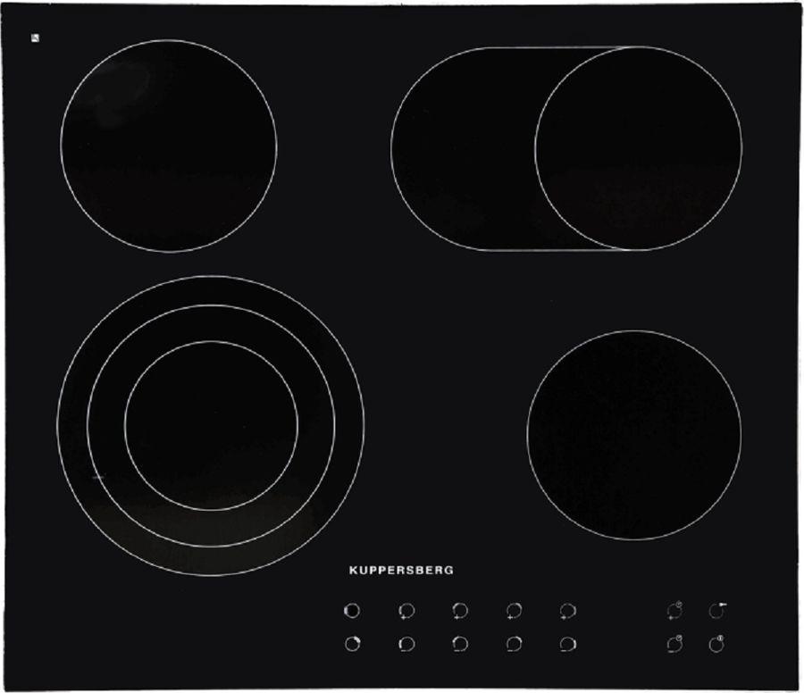 Варочная панель KUPPERSBERG FT6VS09,  электрическая,  независимая,  черный