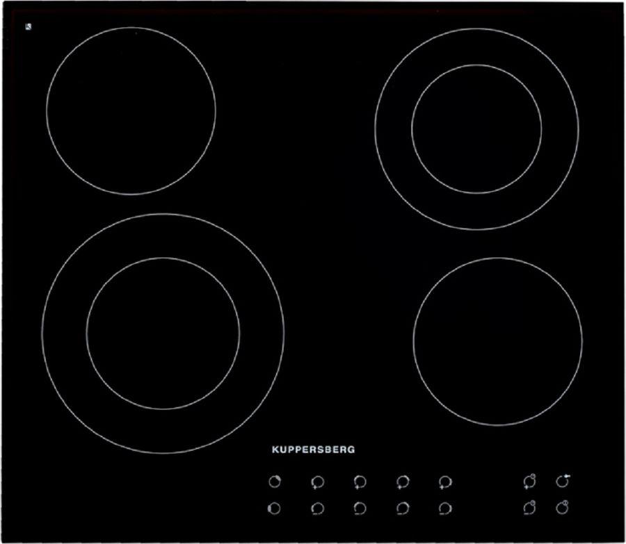 Варочная панель KUPPERSBERG FT6VS16,  электрическая,  независимая,  черный