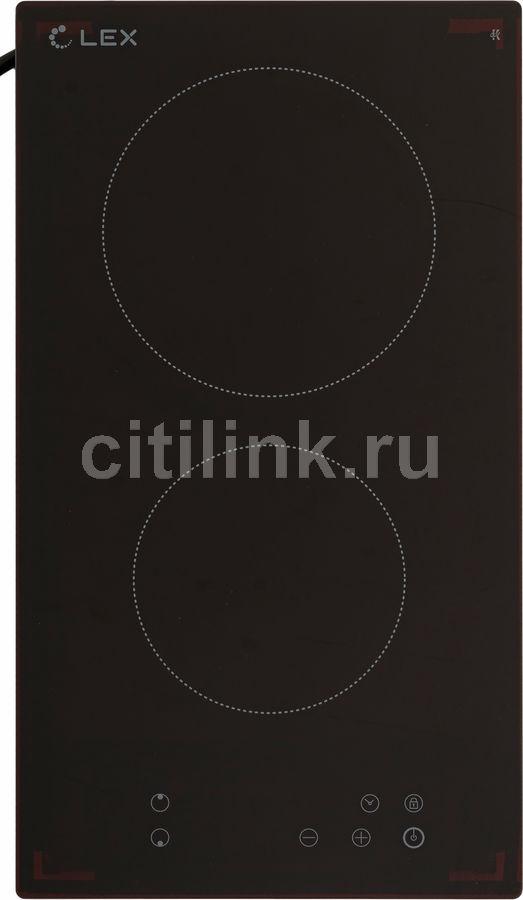 Варочная панель LEX EVH 320,  Hi-Light,  независимая,  черный