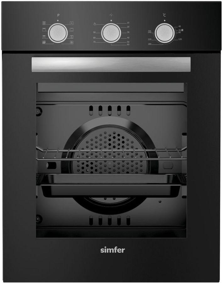 Духовой шкаф SIMFER B 4ES 18011,  черный