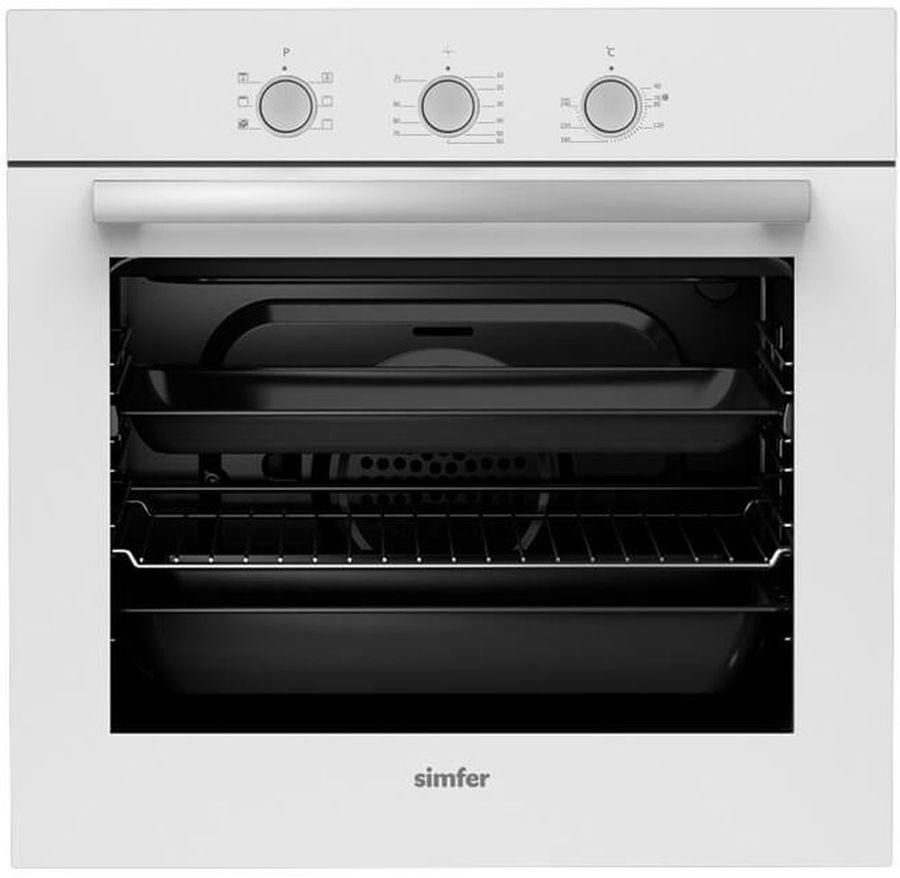 Духовой шкаф SIMFER B 6EC 16011,  белый