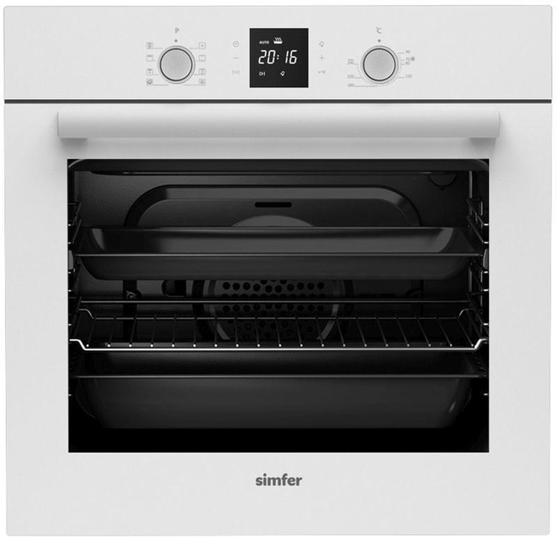Духовой шкаф SIMFER B 6EC 68011,  белый
