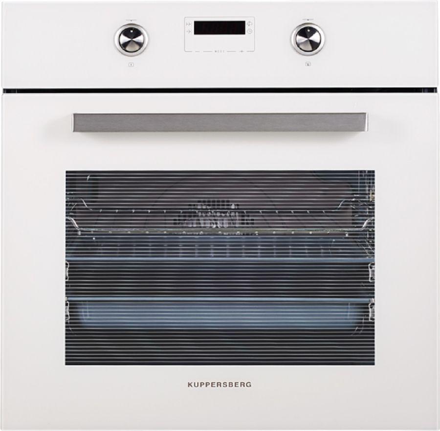 Духовой шкаф KUPPERSBERG SB 663 W,  стекло белое
