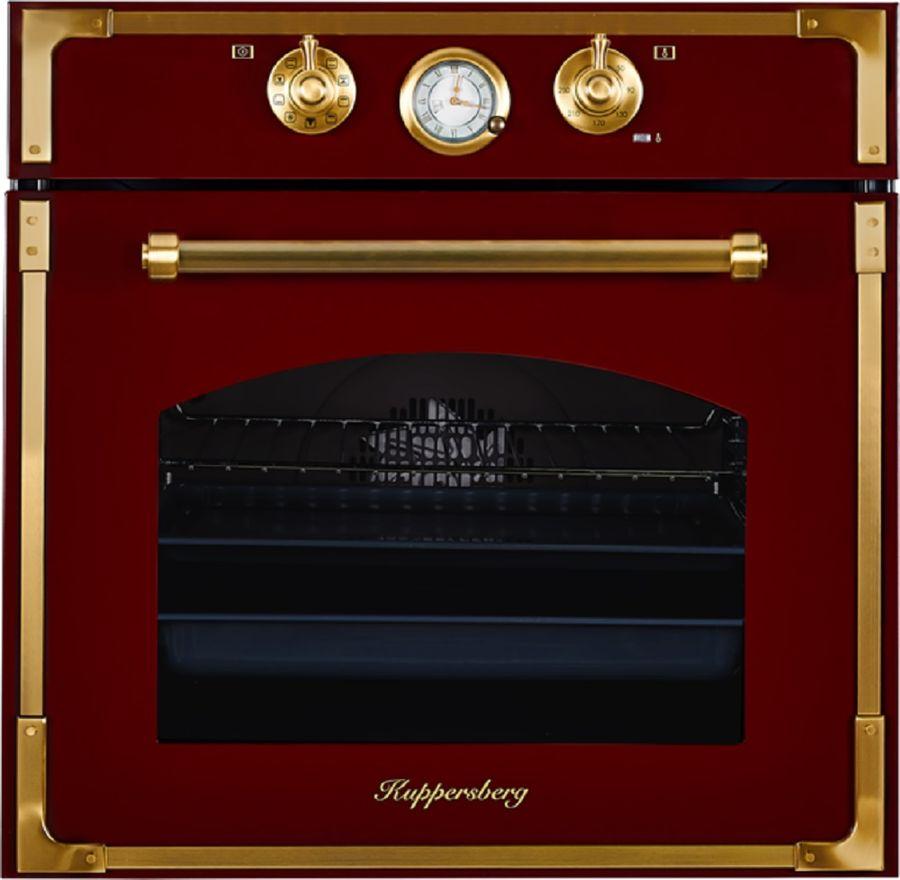 Духовой шкаф KUPPERSBERG RC 699 BOR BRONZE,  вишневый