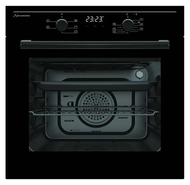 Духовой шкаф SCHAUB LORENZ SLB ES6620,  черный