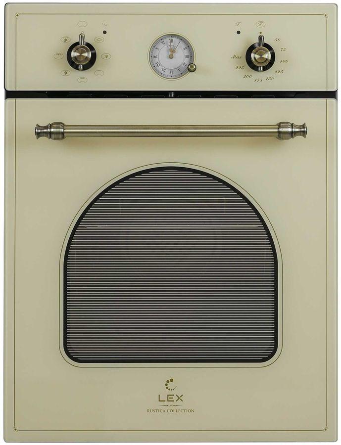 Духовой шкаф LEX EDM 4570C IV,  стекло слоновая кость