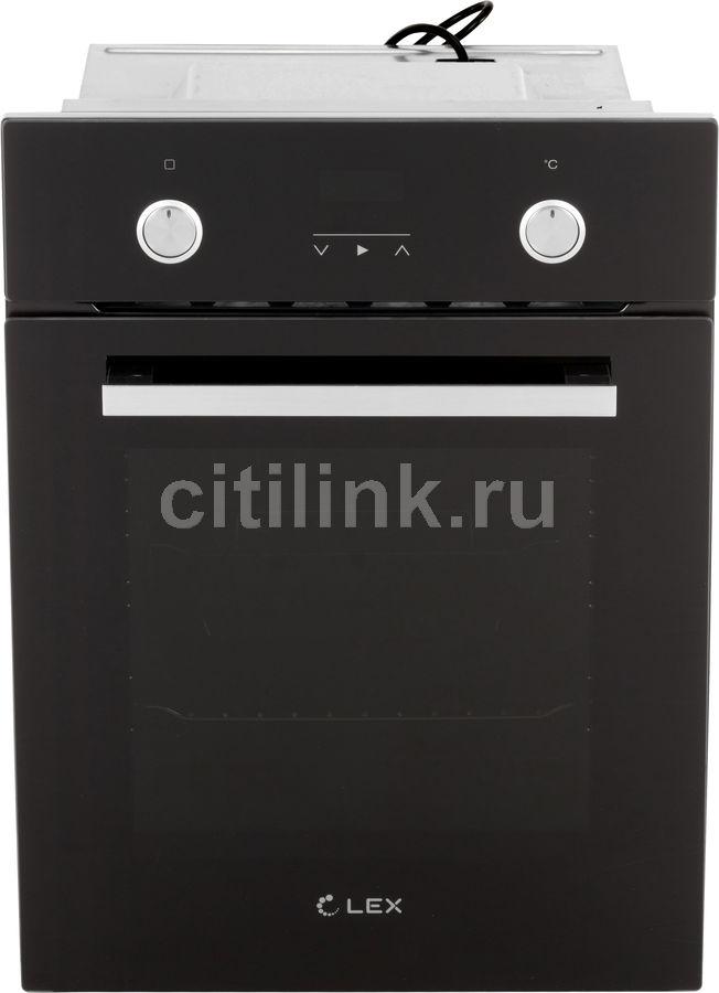 Духовой шкаф LEX EDP 4590 BL Matt Edition,  черный матовый