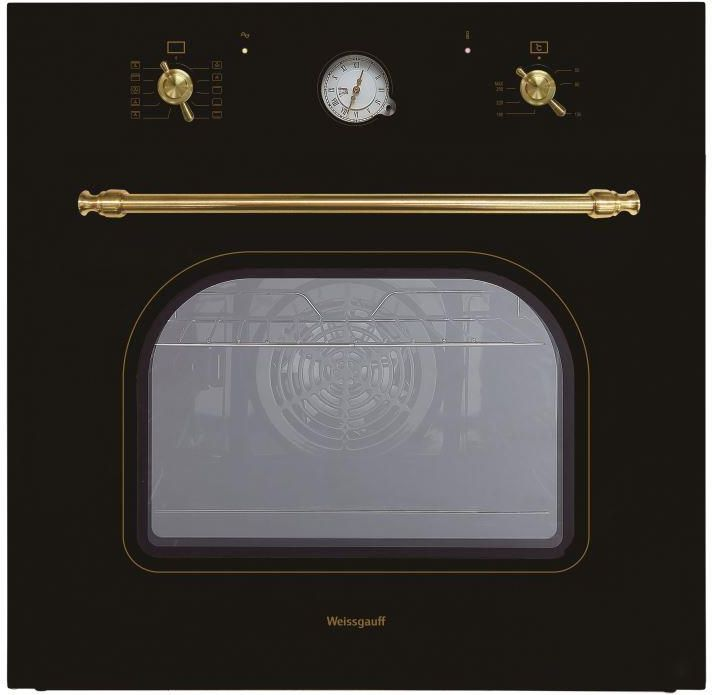 Духовой шкаф WEISSGAUFF EOA 69 AN,  черный
