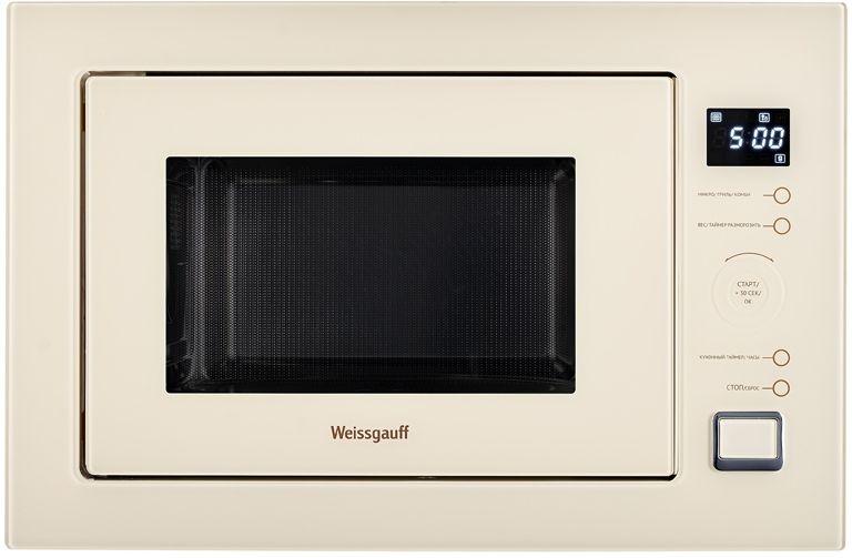 Микроволновая Печь Weissgauff HMT 553 25л. 900Вт слоновая кость (встраиваемая)