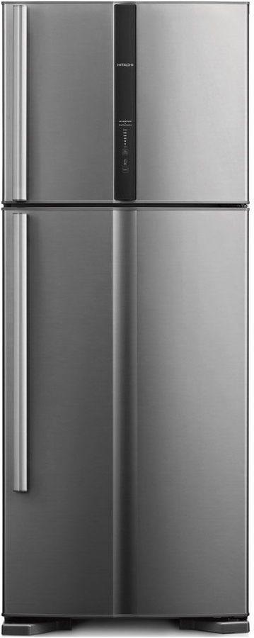 Холодильник HITACHI R-V 542 PU3X INX,  двухкамерный, нержавеющая сталь