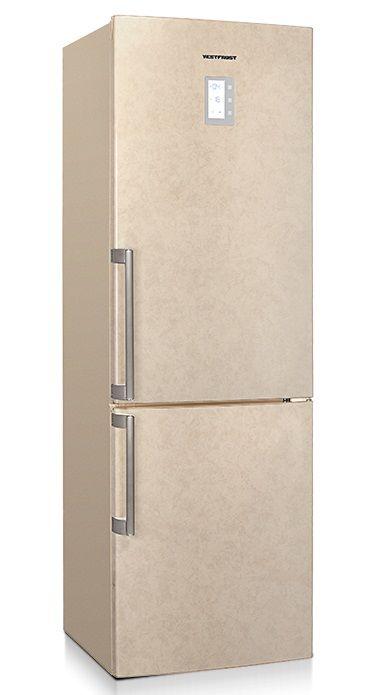 Холодильник VESTFROST VF 3663 B,  двухкамерный, бежевый