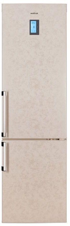 Холодильник VESTFROST VF 3863 B,  двухкамерный, бежевый