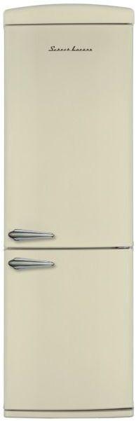 Холодильник SCHAUB LORENZ SLUS335С2,  двухкамерный,  бежевый