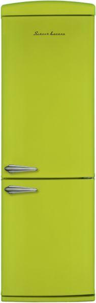 Холодильник SCHAUB LORENZ SLUS335G2,  двухкамерный,  зеленый