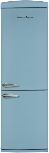 Холодильник SCHAUB LORENZ SLUS335U2,  двухкамерный, голубой