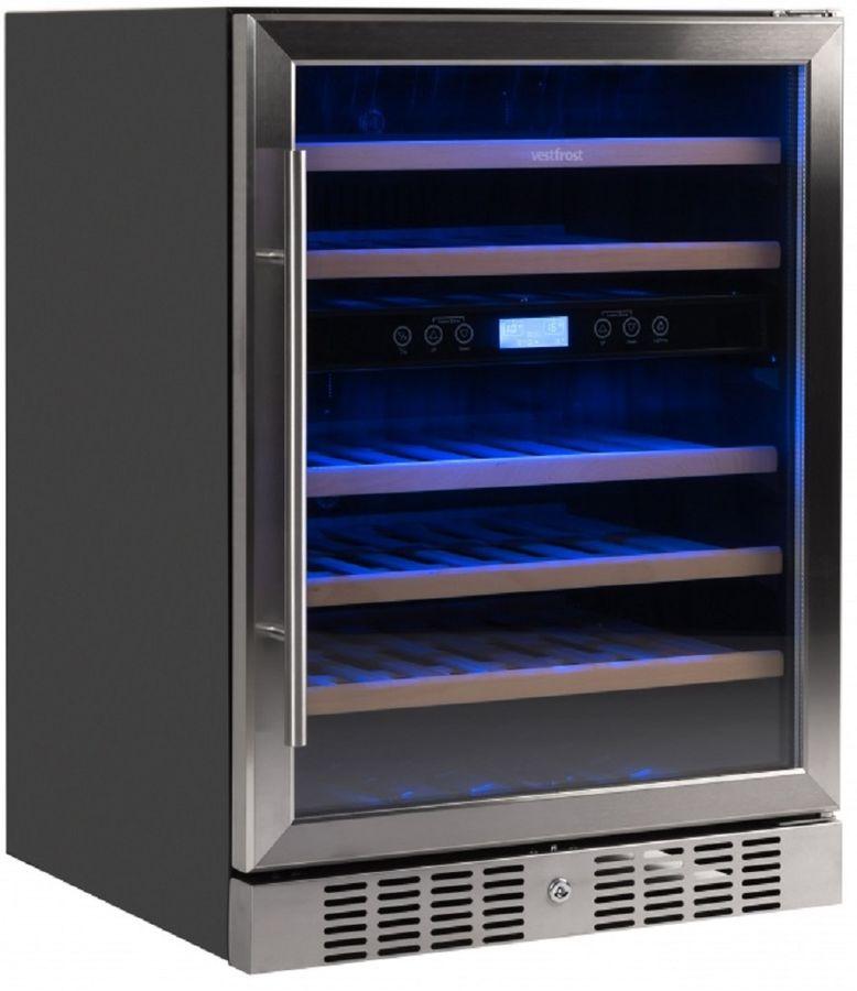 Винный шкаф VESTFROST VFWC 150 Z 2,  однокамерный,  серебристый
