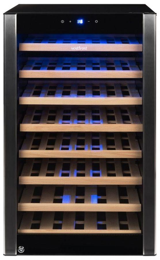 Винный шкаф VESTFROST VFWC 120 Z 1,  однокамерный,  серебристый