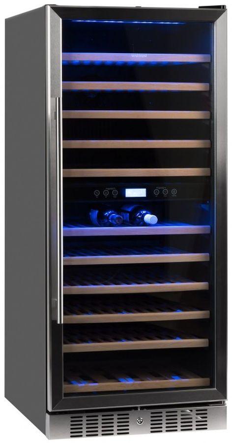 Винный шкаф VESTFROST VFWC 350 Z 2,  однокамерный,  серебристый