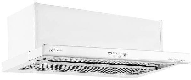 Вытяжка встраиваемая Kaiser EA 642 W белый управление: кнопочное (1 мотор)