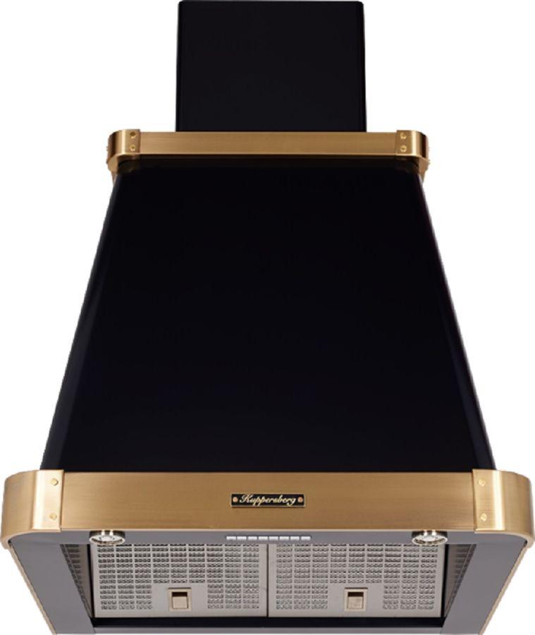 Вытяжка каминная Kuppersberg V 639 ANT Bronze антрацит управление: кнопочное (1 мотор)
