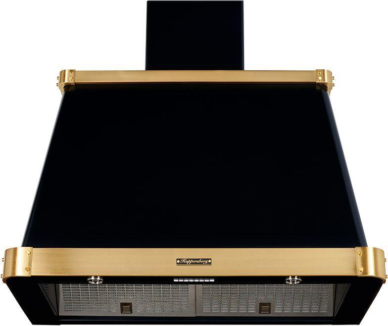 Вытяжка каминная Kuppersberg V 939 ANT Bronze антрацит управление: кнопочное (1 мотор)
