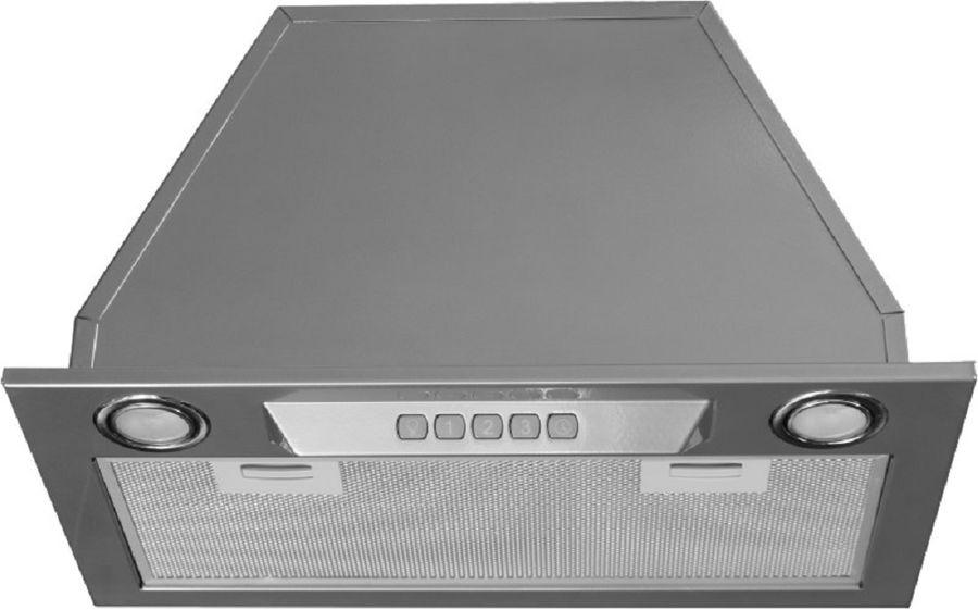 Вытяжка встраиваемая Kuppersberg Inlinea 52 XE серебристый управление: кнопочное (1 мотор)