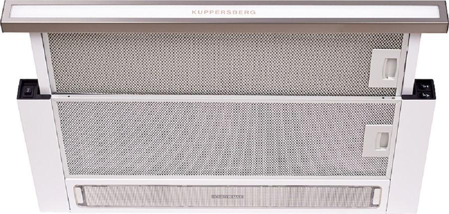Вытяжка встраиваемая Kuppersberg SLIMLUX II 60 BFG нержавеющая сталь управление: кнопочное (1 мотор)