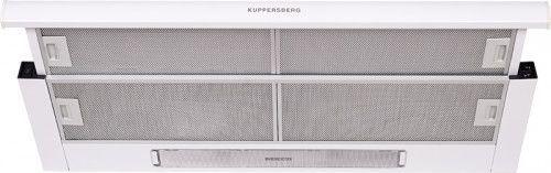 Вытяжка встраиваемая Kuppersberg SLIMLUX II 90 BG белый управление: кнопочное (1 мотор)