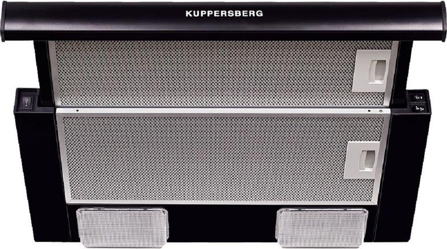Вытяжка встраиваемая Kuppersberg SLIMLUX II 50 SG черный управление: кнопочное (1 мотор)