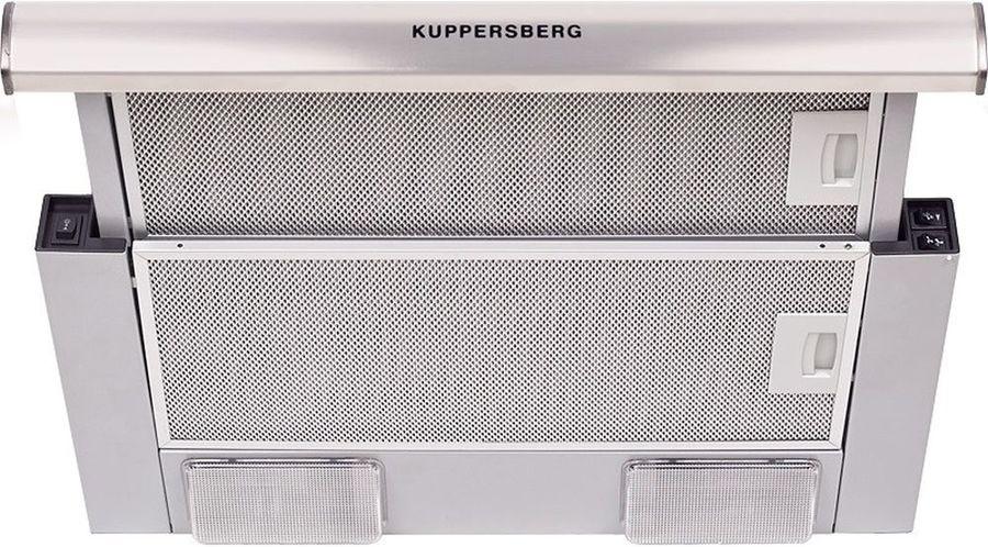Вытяжка встраиваемая Kuppersberg SLIMLUX II 50 XG нержавеющая сталь управление: кнопочное (1 мотор)