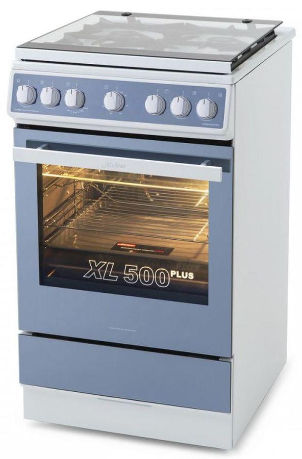 Газовая плита KAISER HGG 52521 KW,  газовая духовка,  белый