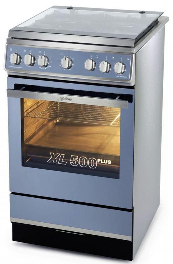 Газовая плита KAISER HGG 52531 R,  газовая духовка,  серый