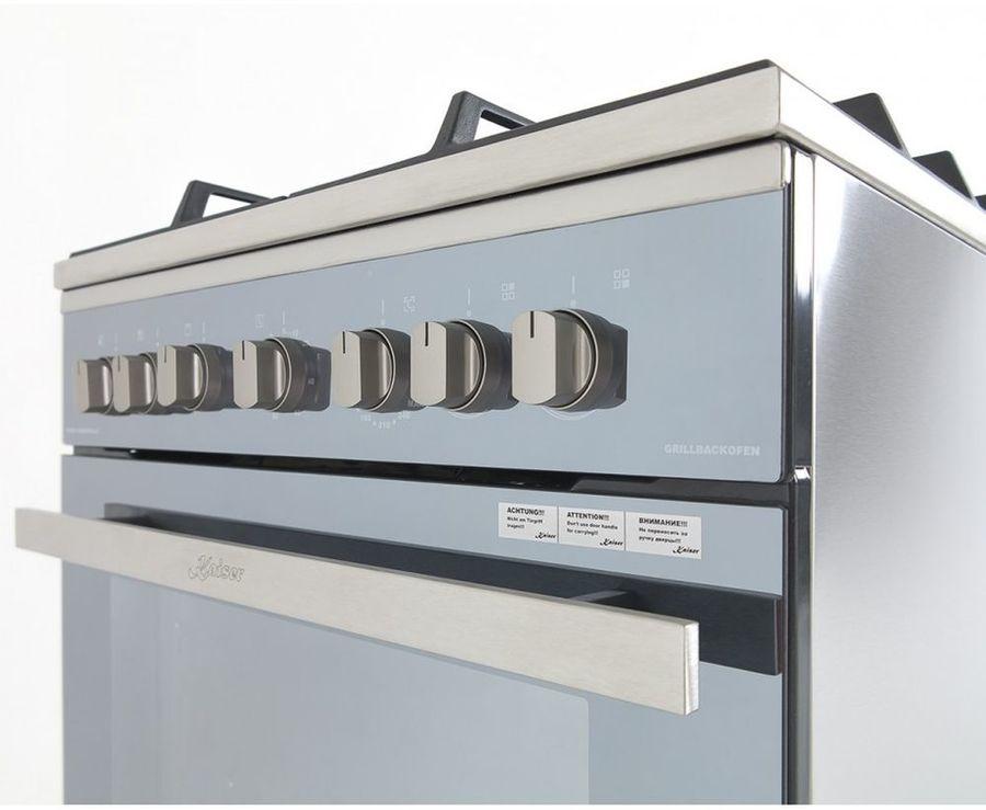 Газовая плита KAISER HGG 61532 R,  газовая духовка,  серый