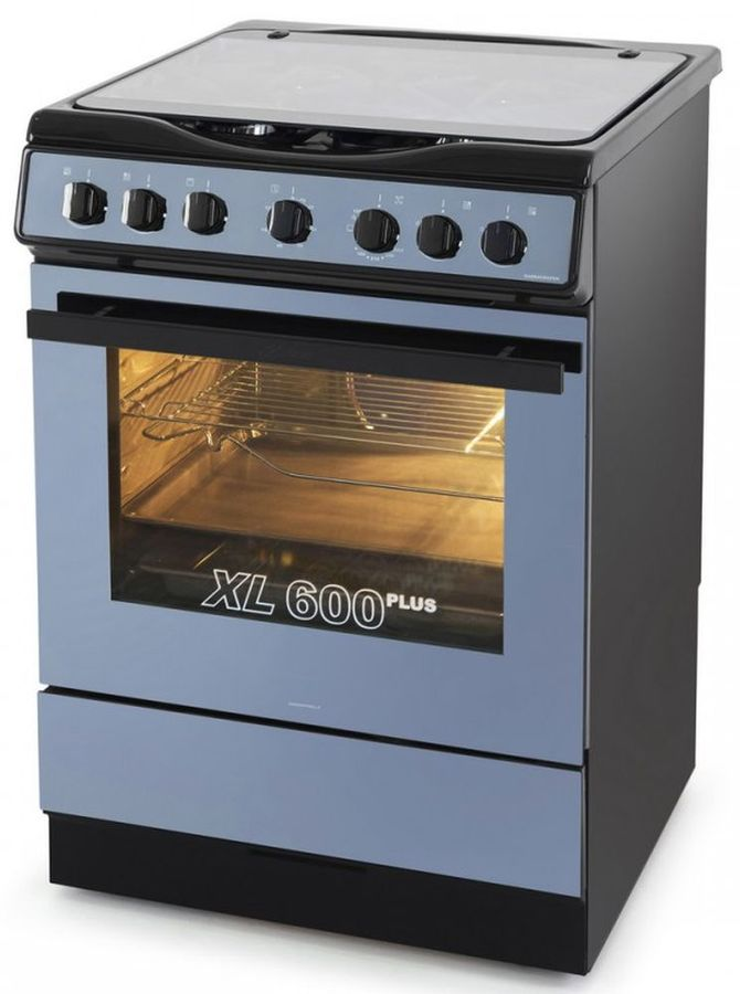 Газовая плита KAISER HGG 62501 S,  газовая духовка,  черный