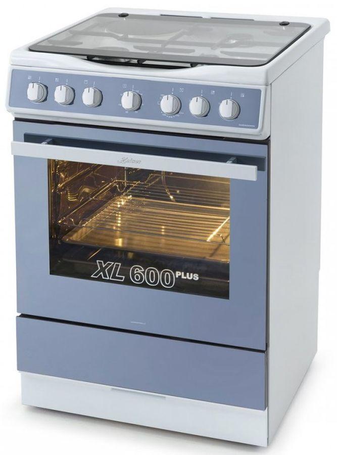 Газовая плита KAISER HGG 62521 KW,  газовая духовка,  белый