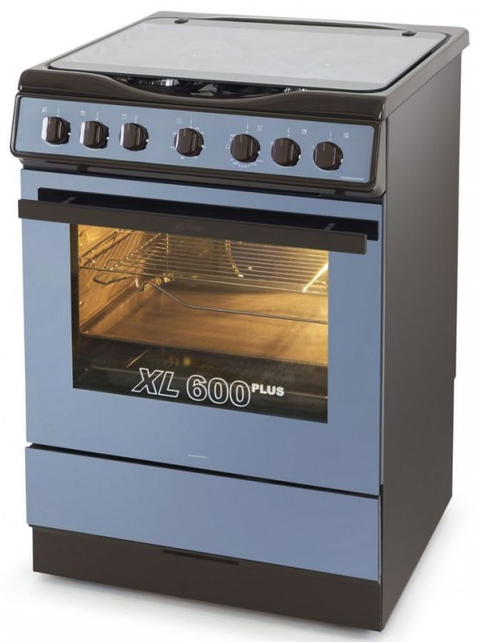 Газовая плита KAISER HGG 62501 B,  газовая духовка,  коричневый