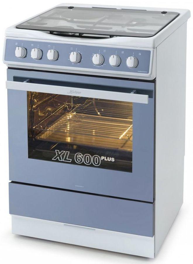 Газовая плита KAISER HGG 62501 W,  газовая духовка,  белый