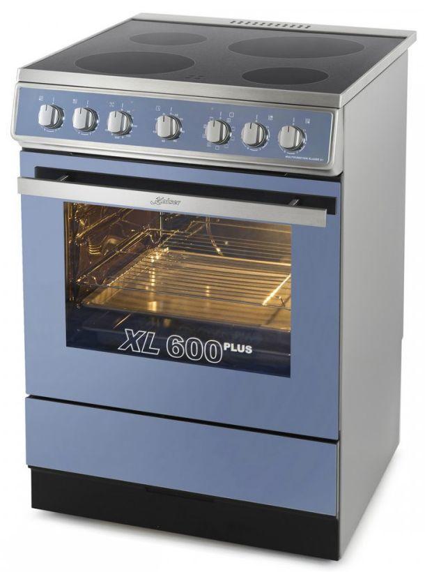 Электрическая плита KAISER HC 62010 R Moire,  стеклокерамика,  серый