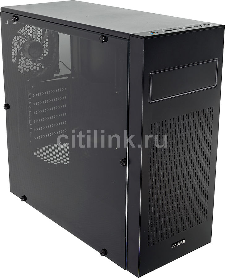 Корпус ATX ZALMAN N2, Midi-Tower, без БП, черный diamante azul