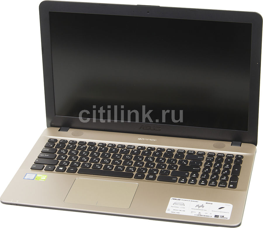 Ноутбук ASUS K541UV-DM1488T, 15.6, Intel Core i3 7100U 2.4ГГц, 6Гб, 1000Гб, nVidia GeForce 920MX - 2048 Мб, Windows 10, 90NB0CG1-M22090, черныйНоутбуки<br>экран: 15.6;  разрешение экрана: 1920х1080; процессор: Intel Core i3 7100U; частота: 2.4 ГГц; память: 6144 Мб, DDR4; HDD: 1000 Гб, 5400 об/мин; nVidia GeForce 920MX - 2048 Мб; WiFi;  Bluetooth; HDMI; WEB-камера; Windows 10<br>