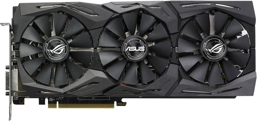 Видеокарта ASUS AMD  Radeon RX 580 ,  ROG-STRIX-RX580-8G-GAMING,  8Гб, GDDR5, Ret