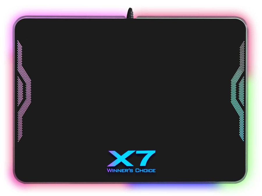 Коврик для мыши A4 XP-50NH,  черный/рисунок