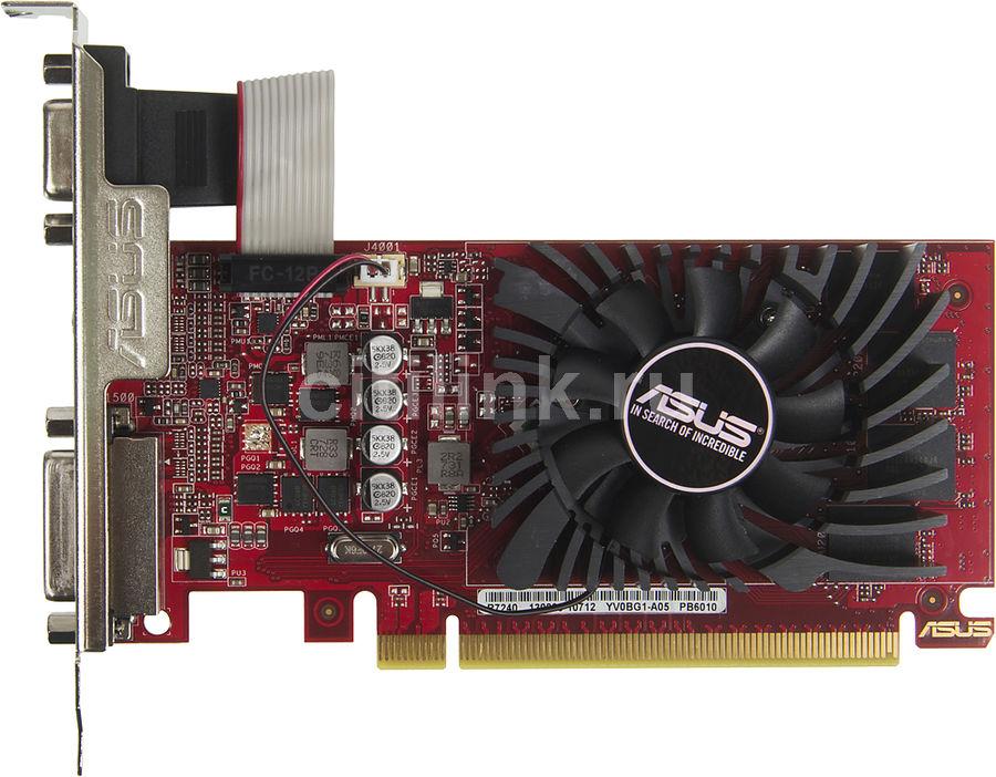 Купить Видеокарта ASUS AMD  Radeon R7 240 ,  R7240-2GD5-L в интернет-магазине СИТИЛИНК, цена на Видеокарта ASUS AMD  Radeon R7 240 ,  R7240-2GD5-L (1023991) - Москва
