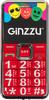 Мобильный телефон GINZZU MB505,  красный вид 1
